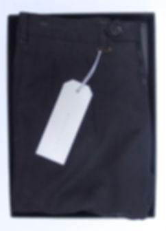 Zero Object double pleated indigo pant