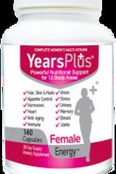 Years Plus Female Energy