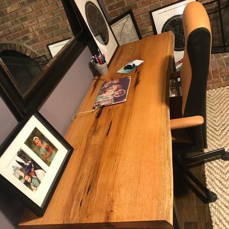 Red Oak Desk 2019
