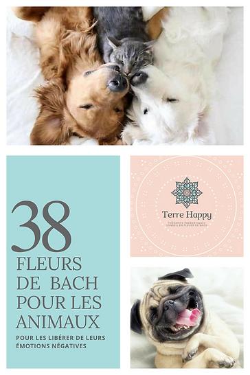 Terre Happy/ Fleurs de Bach  pour animaux