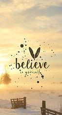 S'aimer soi-même et croire en soi