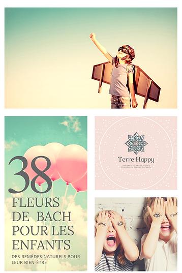Flyer Fleurs de Bach pour enfants