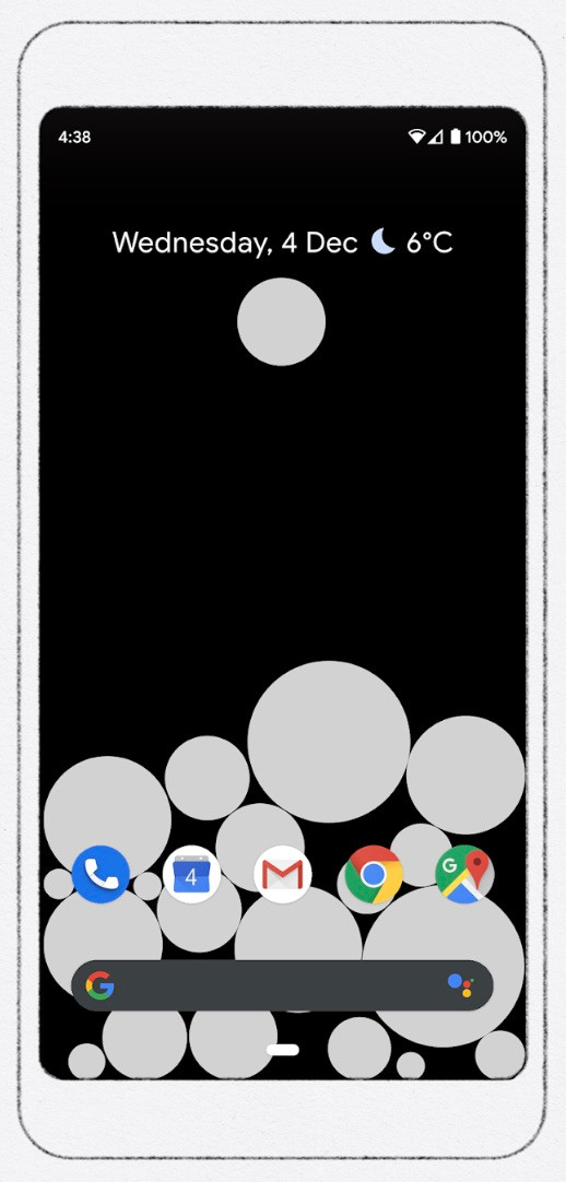 Activity Bubbles para Android
