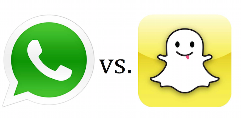 Whatsapp vs Snapchat