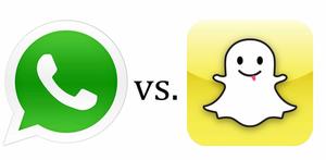 Whatsapp vs Snapchat