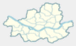 Map of Seoul with Popular Expat Districts