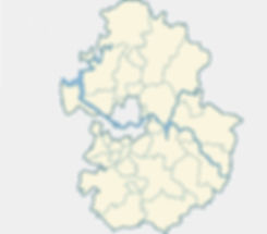 Map of Gyeonggi-do with Popular Expat Cities