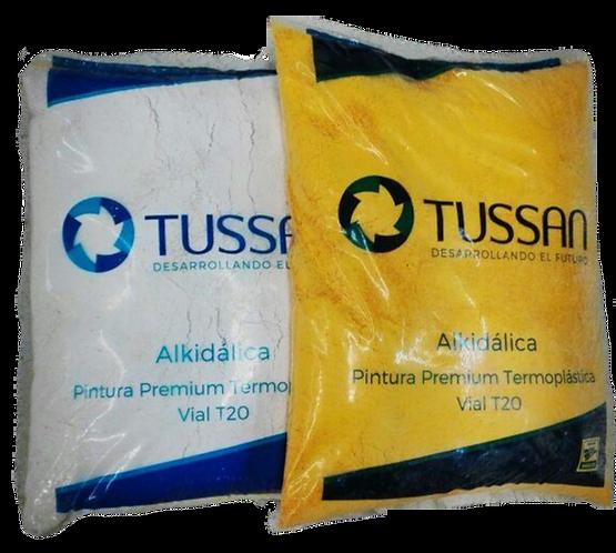 Pintura termoplástica TUSSAN premium T20