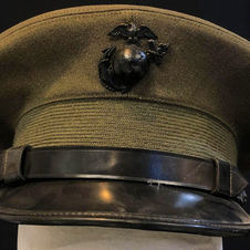 Marine Corps Green Officers Service Cap