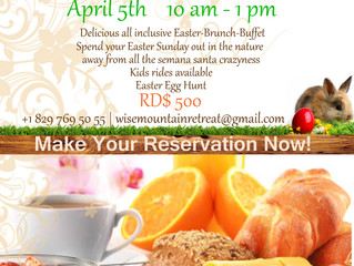 Easter Brunch at Wise Mountain Retreat