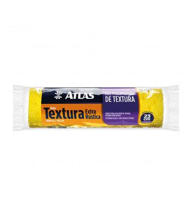 Atlas Rolo Textura Rústica - 23cm