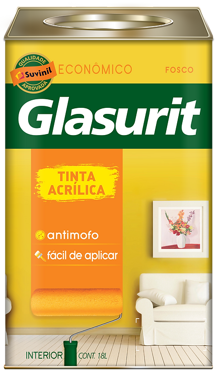 Glasurit Látex Acrílico - Lata - 18 Litros