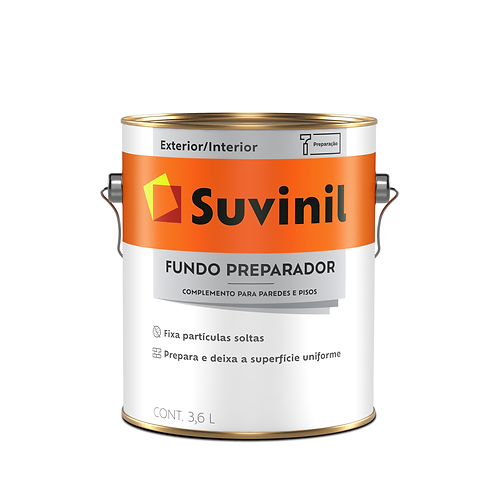 Suvinil Fundo Preparador de Paredes - Galão 3,6L