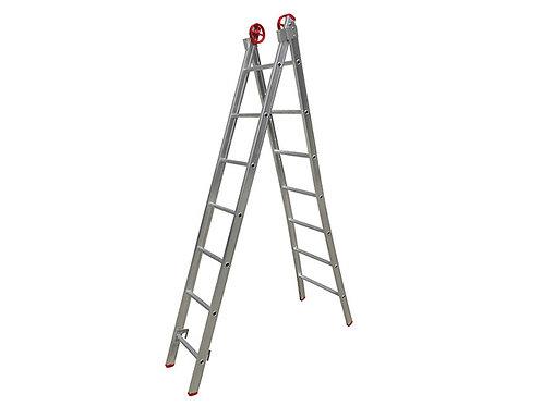 Escada de Alumínio Extensiva Profissio - 8 Degraus