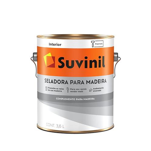 Suvinil Seladora Para Madeira - 3,6 L
