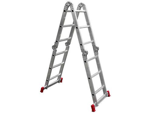 Escada de Alumínio Articulada 12 Degraus Botafogo