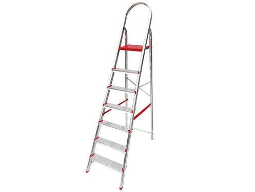 Escada de Alumínio Doméstica 5 Degraus