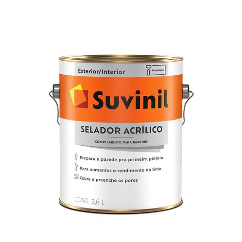 Suvinil Selador Acrílico - 3,6L