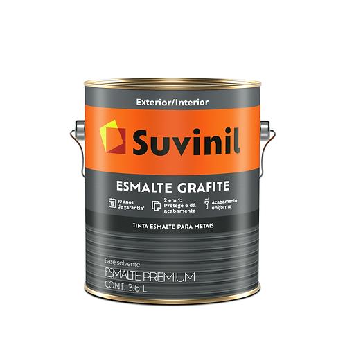 Suvinil Esmalte Grafite - 3,6 L