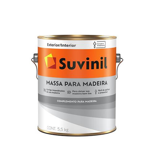 Suvinil Massa para Madeira - 5,5 Kg