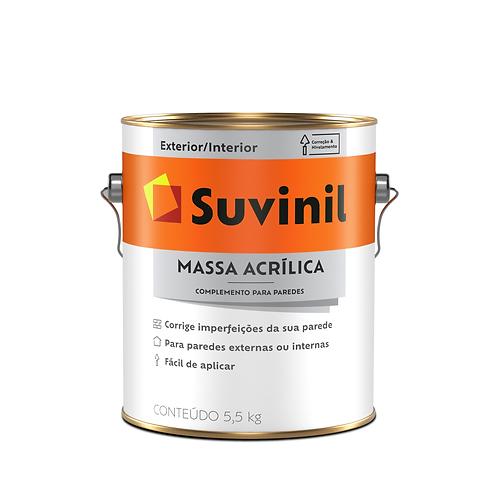 Suvinil Massa Acrílica - Galão - 3,6 Litros