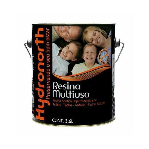 Hydronorth Resina Solvente Incolor - 3,6 L
