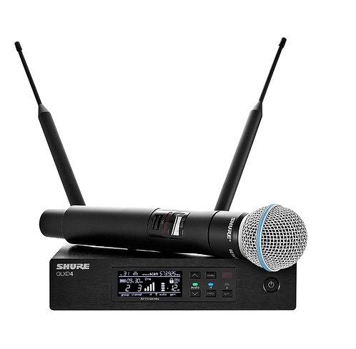 Shure - QLXD Beta58 Vocal Wireless System V50