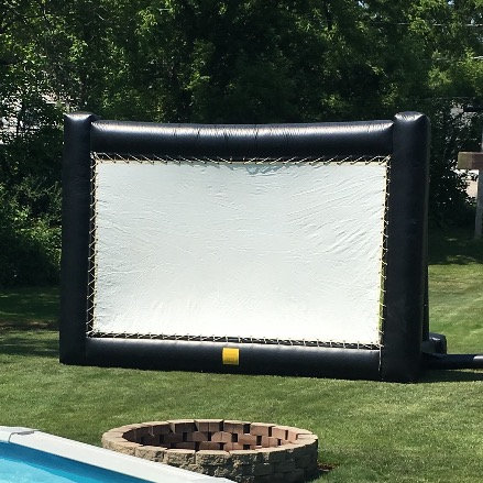 Inflatable Outdoor Movie Screen (w/blower)