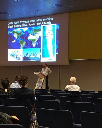 Presentation by Dr. Mustafa Yücel during Goldschmidt 2019, Barcelona, Spain