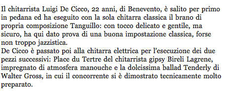 Valle Sabbia News - Piacenza Jazz