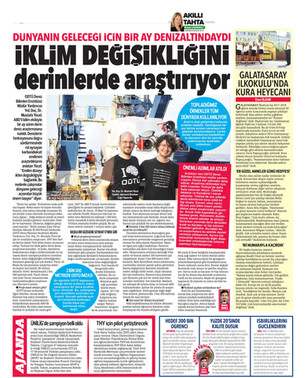 2017 EPR Research Cruise with R/V Atlantis and DSV Alvin in Turkish Media