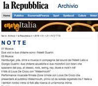 la Repubblica - 21.01.2018