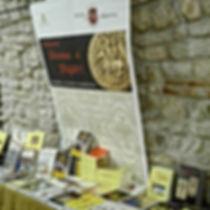 Stand al Festival del Medioevo di Gubbio