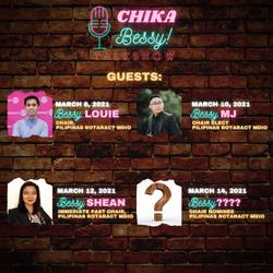 Chika Bessy Talkshow Guests