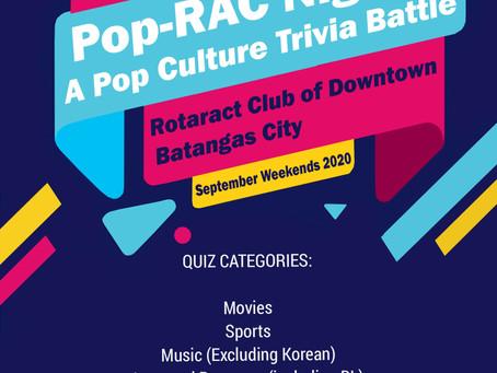POP-RAC Nights: A Pop Culture Trivia Battle