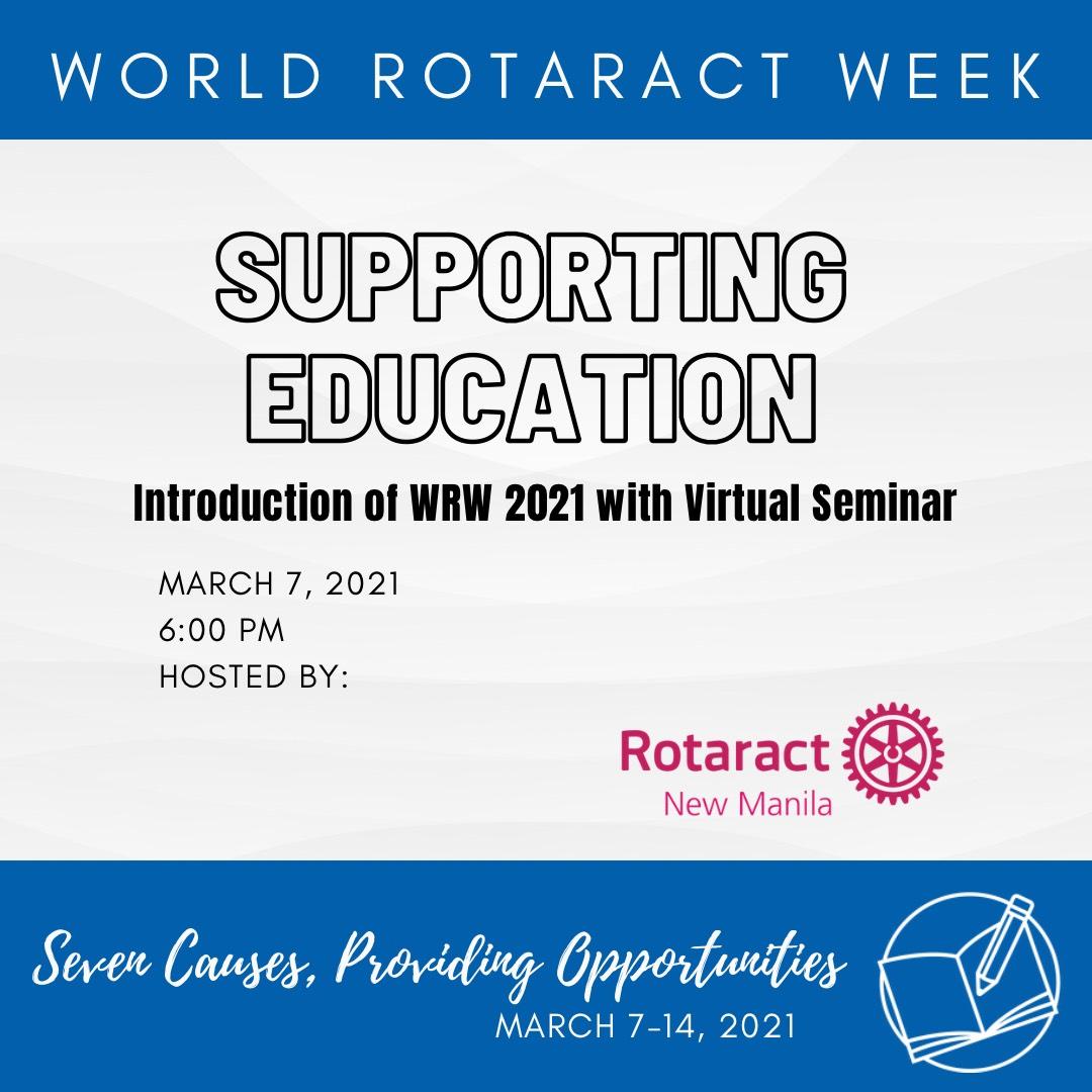 Supporting Education Webinar