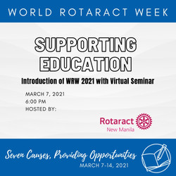 Supporting Education Webinar