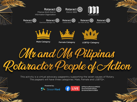 Mr. and Ms. Pilipinas Rotaractor People of Action
