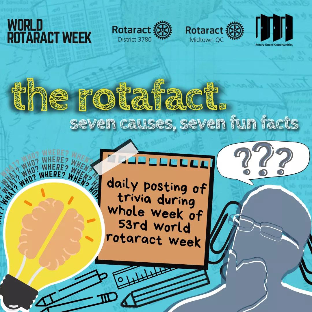 Rotaract Club of Midtown QC RotaFact Daily Trivia Game