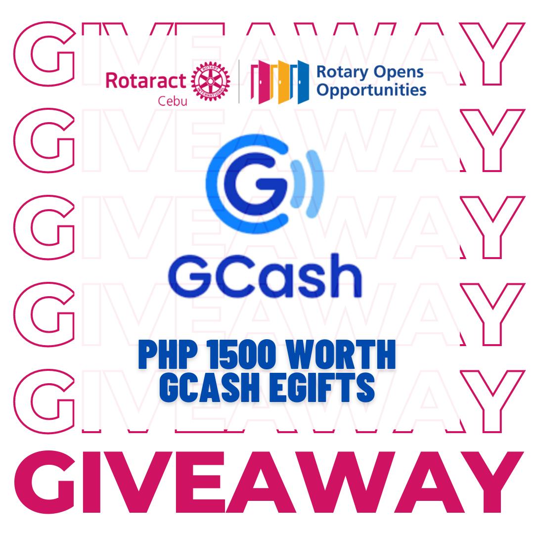Rotaract Club of Cebu Gcash E-gifts