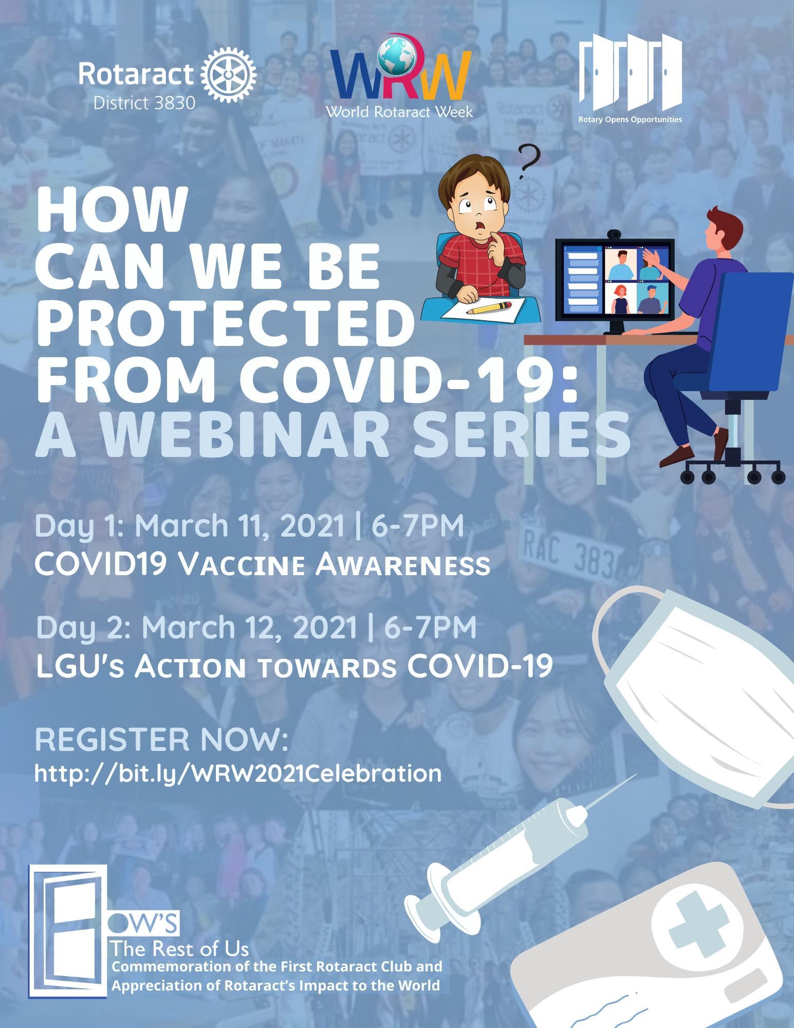 COVID-19 Response and Vaccine Awareness Webinars