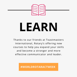 Learn by Taking Toastmasters Courses