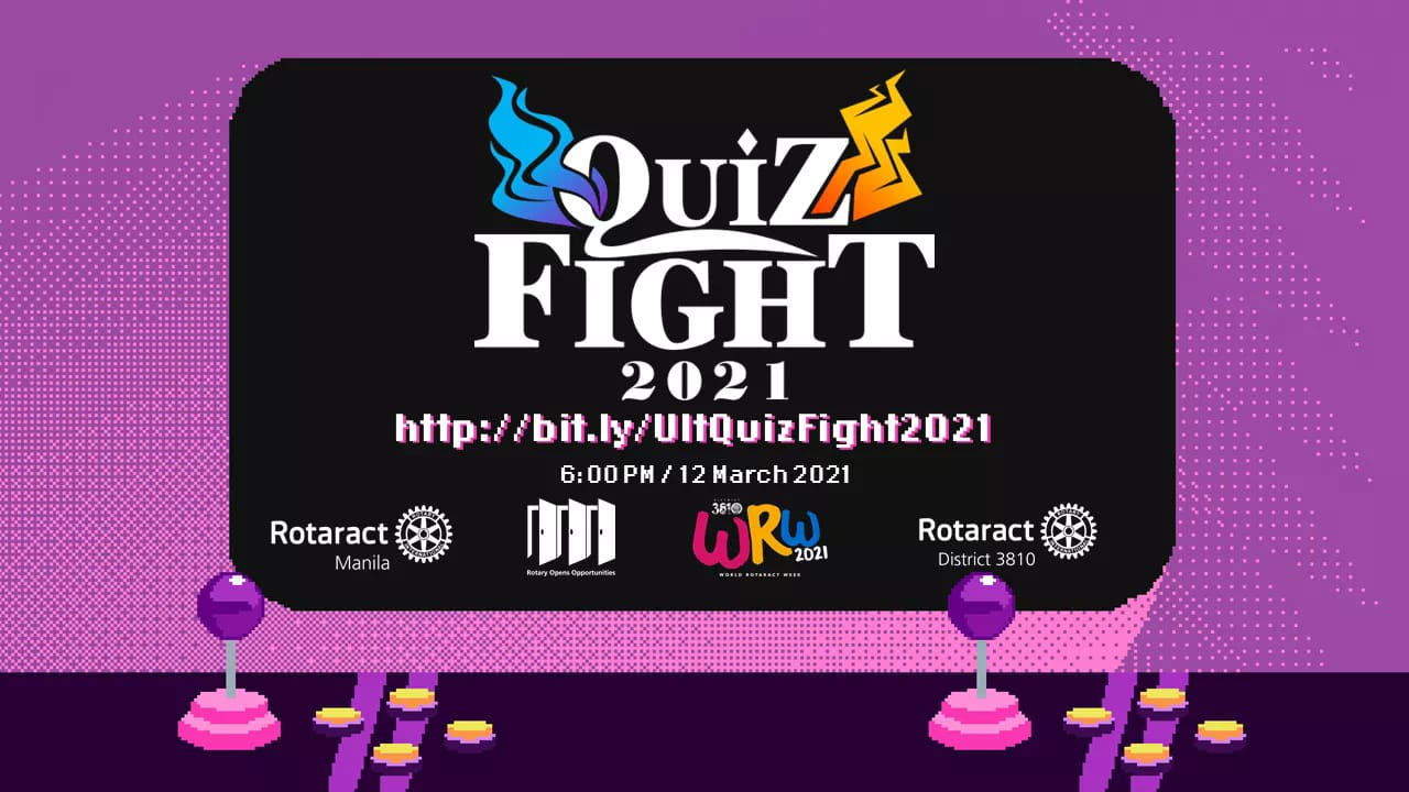 Ultimate Quiz Fight by Rotaract Club of Manila