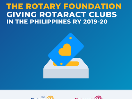 The Rotary Foundation recognizes 15 PH Rotaract clubs for giving