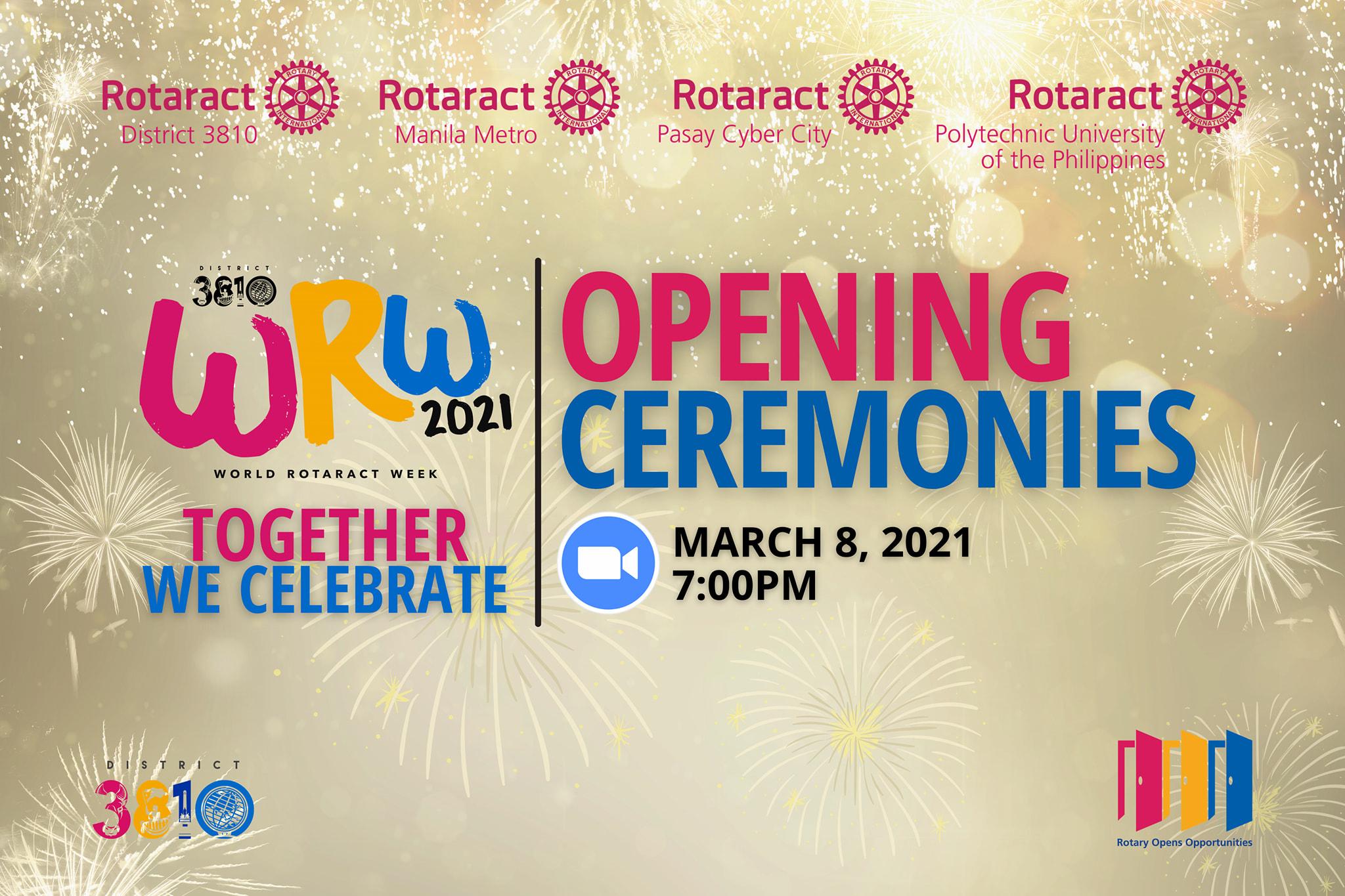 District 3810 World Rotaract Week Kick-Off