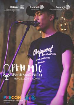 Spoken Poetry Open Mic