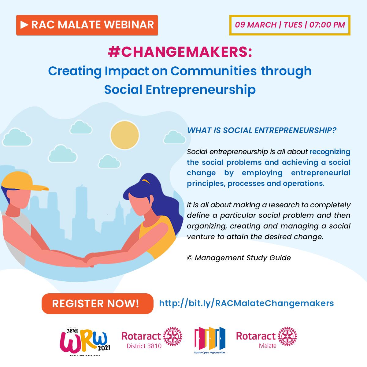 Social Entrepreneurship Webinar