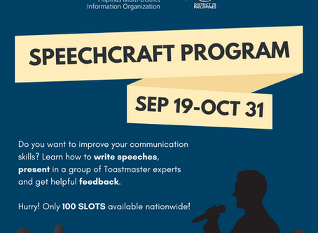 MDIO, Toastmasters District 75 offer free public speaking training for PH Rotaractors