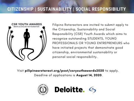 CSR Youth Awards 2020