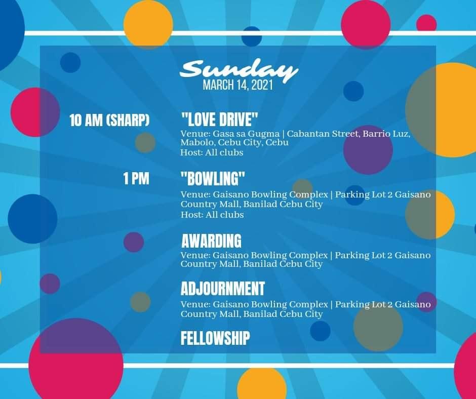 District 3860 Cebu Council Activities